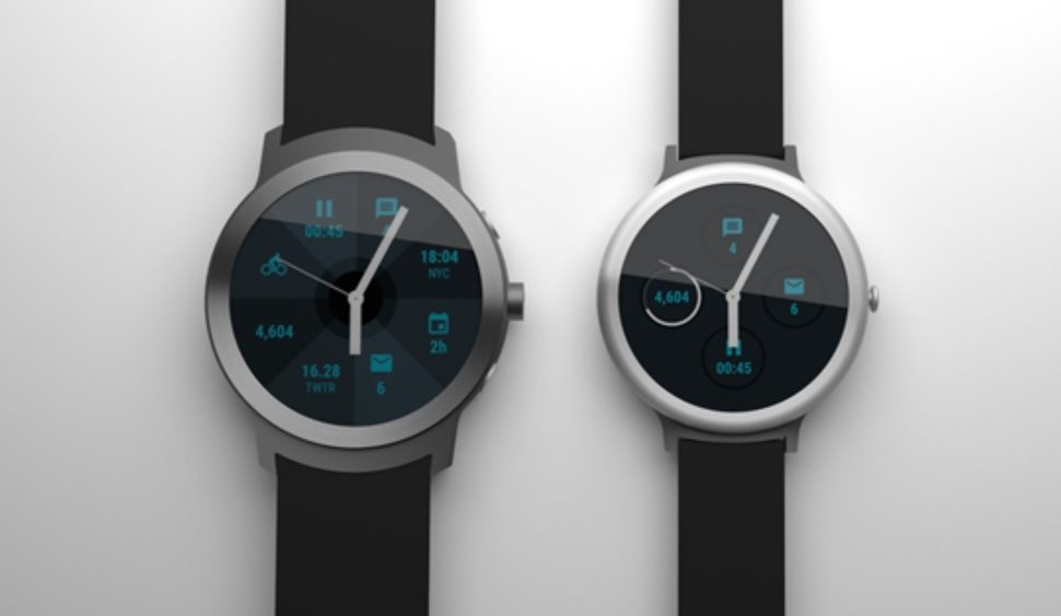 LG smart watch Google android's ware