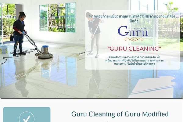 Guru Cleaning – Cleaner website